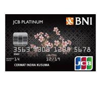 BNI JCB Platinum Card