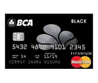 BCA Black MasterCard