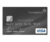 PermataReward Card Visa Platinum