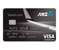 ANZ Travel Visa Signature
