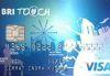BRI Touch Visa Silver