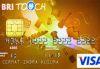 BRI Touch Visa Gold