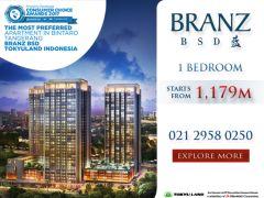 BRANZ BSD: Apartemen Eksklusif Ala Jepang Hadir di Indonesia