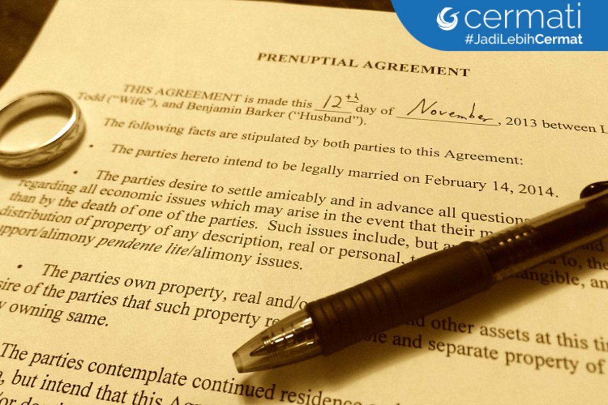 Perjanjian Pra Nikah Apa Saja Yang Perlu Anda Ketahui
