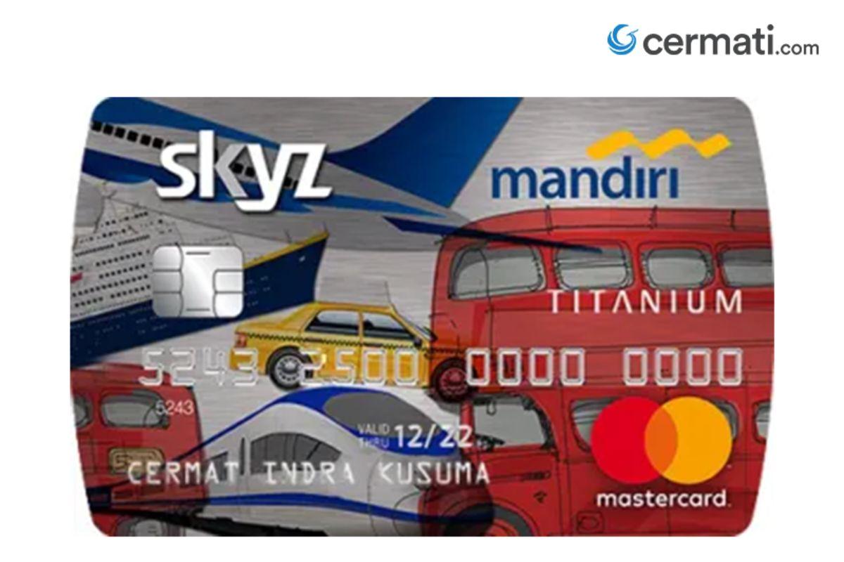 Review Kartu Kredit Mandiri Skyz Cermati Com