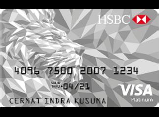 Kartu Kredit HSBC Platinum Visa - Cermati
