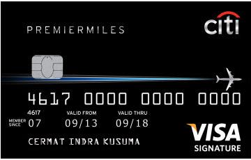 Kartu Kredit Citi PremierMiles Card