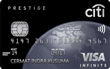 Kartu Kredit Citi Prestige Card