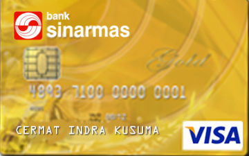 Image result for Sinarmas Visa Gold