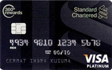 Kartu Kredit Standard Chartered Visa Black Platinum