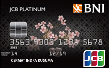 Kartu Kredit Bni Jcb Platinum Card Cermati Com