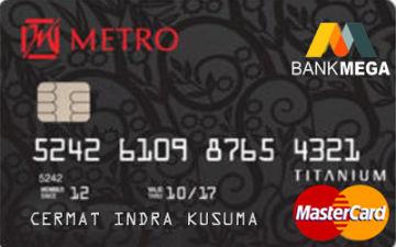 Kartu Kredit Mega Metro Cermati Com