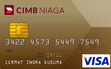 Kartu Kredit Cimb Niaga Visa Gold Cermati Com