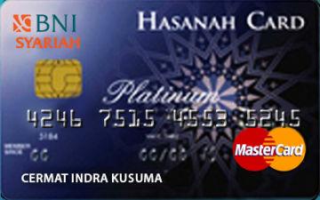 Kartu Kredit Bni Syariah Hasanah Card Platinum Cermati Com