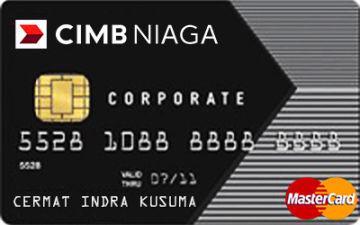 Kartu Kredit Cimb Niaga Corporate Mastercard Cermati Com