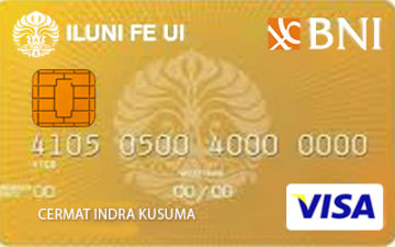 Kartu Kredit BNI ILUNI FE UI Card Gold - Cermati on