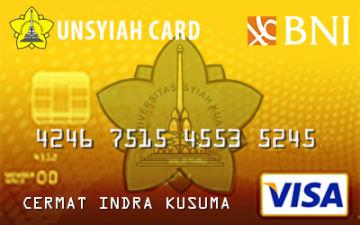 Kartu Kredit Bni Unsyiah Card Gold Cermati Com