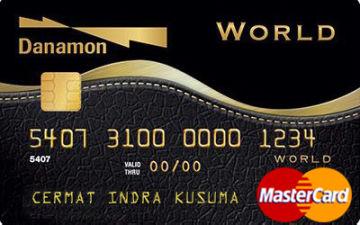 Hasil gambar untuk danamon world card