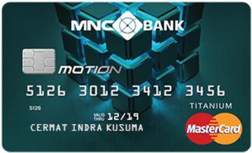 Kartu Kredit Mnc Bank Motion Card Cermati Com