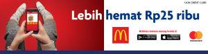 McDelivery MasterCard Lebih Hemat Rp 25 Ribu UOB