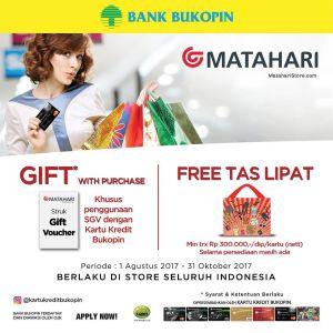 Promosi Kartu Kredit Matahari Dept Store Promo Bukopin