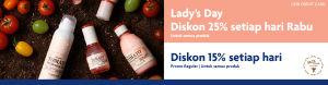 Promo Lady's Day Skin Food Kartu Kredit UOB
