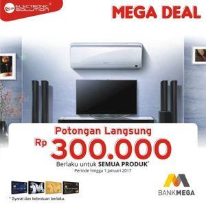 promosi kartu kredit electronic solution promo mega deal. Black Bedroom Furniture Sets. Home Design Ideas