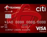 Kartu Kredit Citi Telkomsel Card