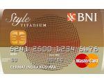 Kartu Kredit BNI Style Titanium