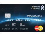 Kartu Kredit Standard Chartered MasterCard WorldMiles