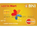 Kartu Kredit BNI-LOTTEMart Card Gold