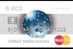 Kartu Kredit BCA MasterCard Platinum