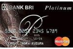 Kartu Kredit BRI MasterCard Platinum