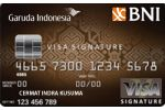 Kartu Kredit Garuda-BNI Visa Signature Card