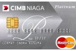 Kartu Kredit CIMB Niaga MasterCard Platinum