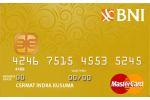 Kartu Kredit BNI MasterCard Gold