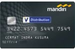 Kartu Kredit Mandiri Distribution Card