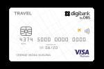 Kartu Kredit Digibank Travel Visa Platinum