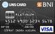 Kartu Kredit BNI-UNS Card Platinum