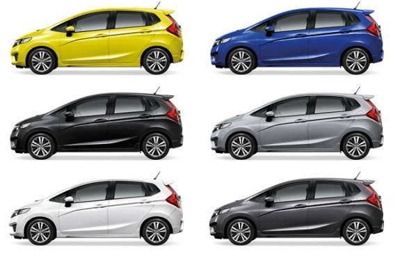 Warna Honda Jazz