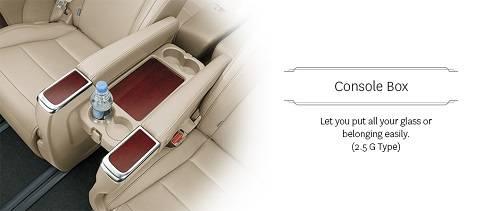 Fitur Toyota Alphard