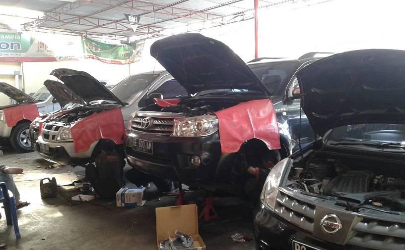Tahap Perbaiki Kendaraan