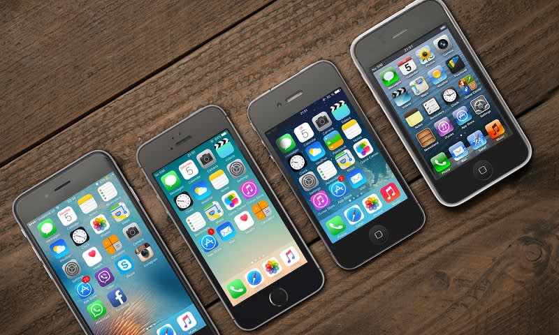 generasi iphone