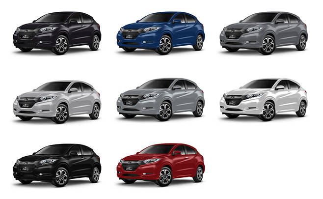 Warna Honda HR-V