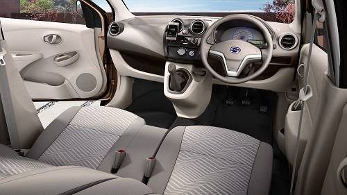 Interior Datsun Go Plus