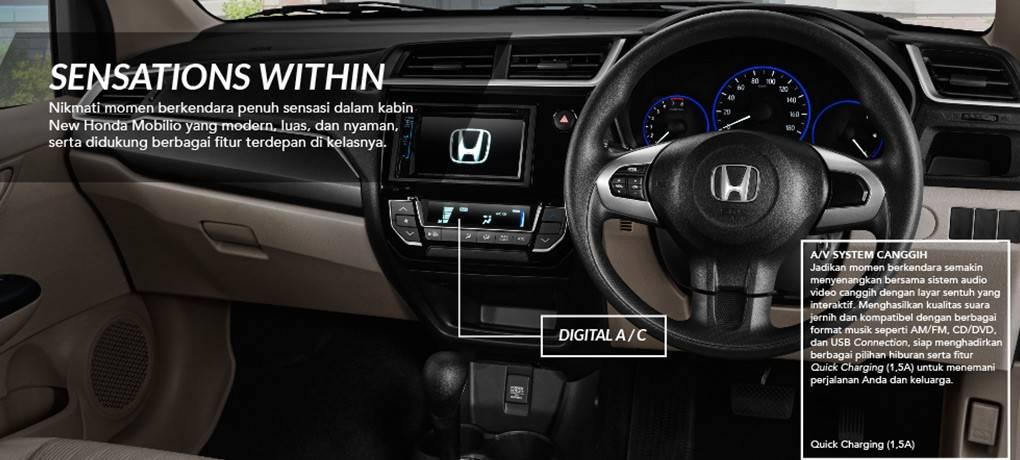 Fitur Kenyamanan Honda Mobilio