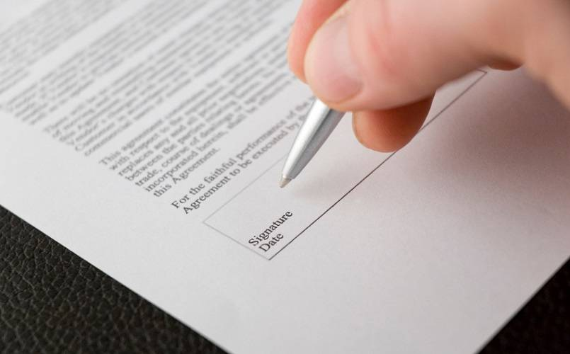 Tanda Tangan Surat Pernyataan