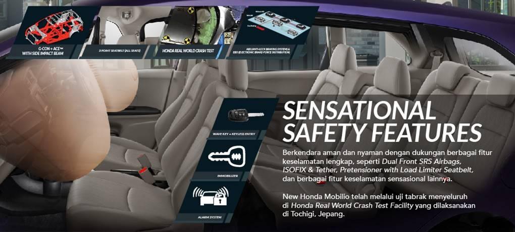 Fitur Keamanan Honda Mobilio