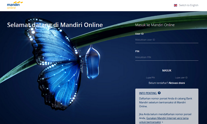 mandiri internet banking apk
