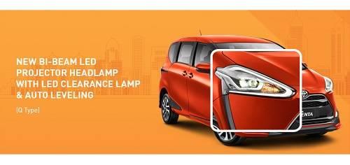 Desain Toyota Sienta